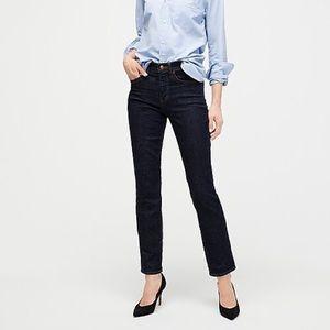 J Crew vintage straight dark wash jeans
